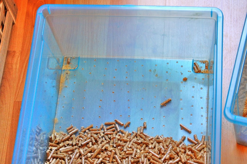 DIY Wood Pellet Litter Box