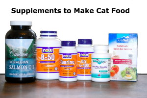 supplements to make cat food