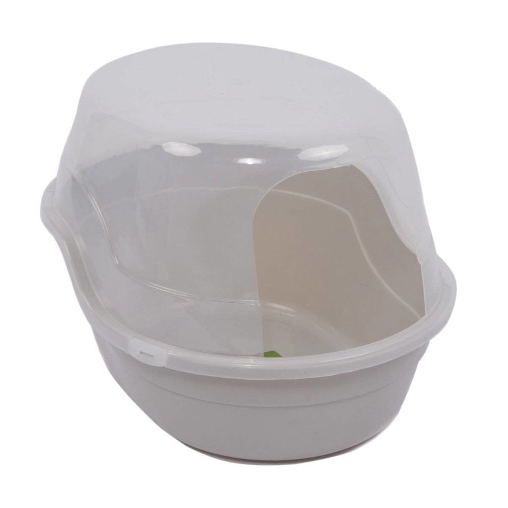 Covered Litter Boxes For Small Spaces Litter Box With