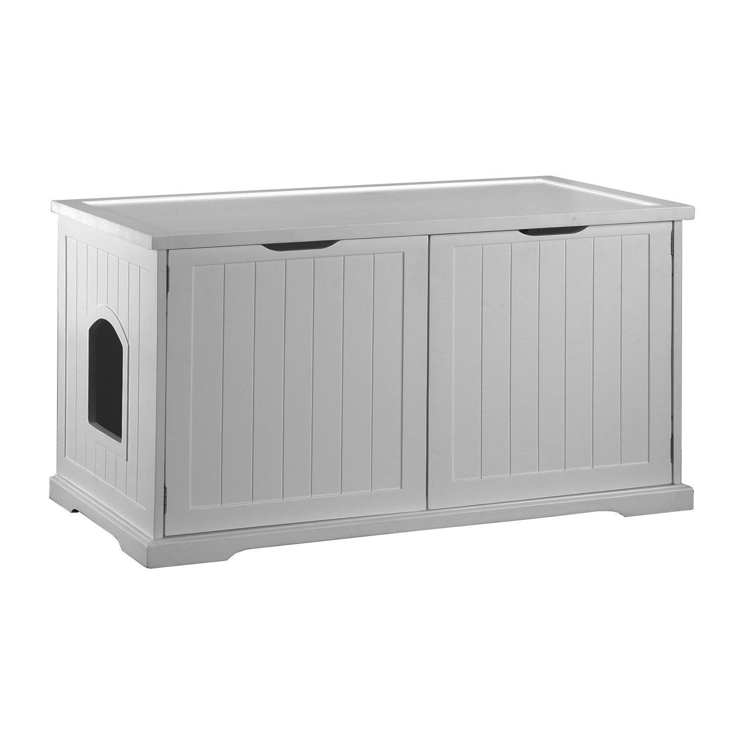 Modern Cat Designs Large Litter Box Hider  315  Merry Products Cat Washroom  Bench. Covered Litter Boxes  Pros and Cons   Meow Lifestyle