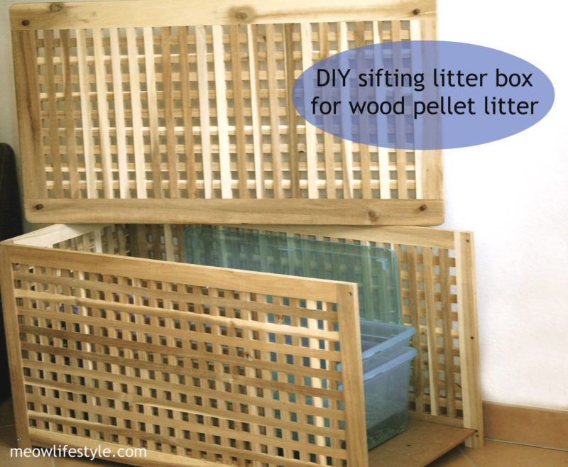 DIY Ikea hack litter box