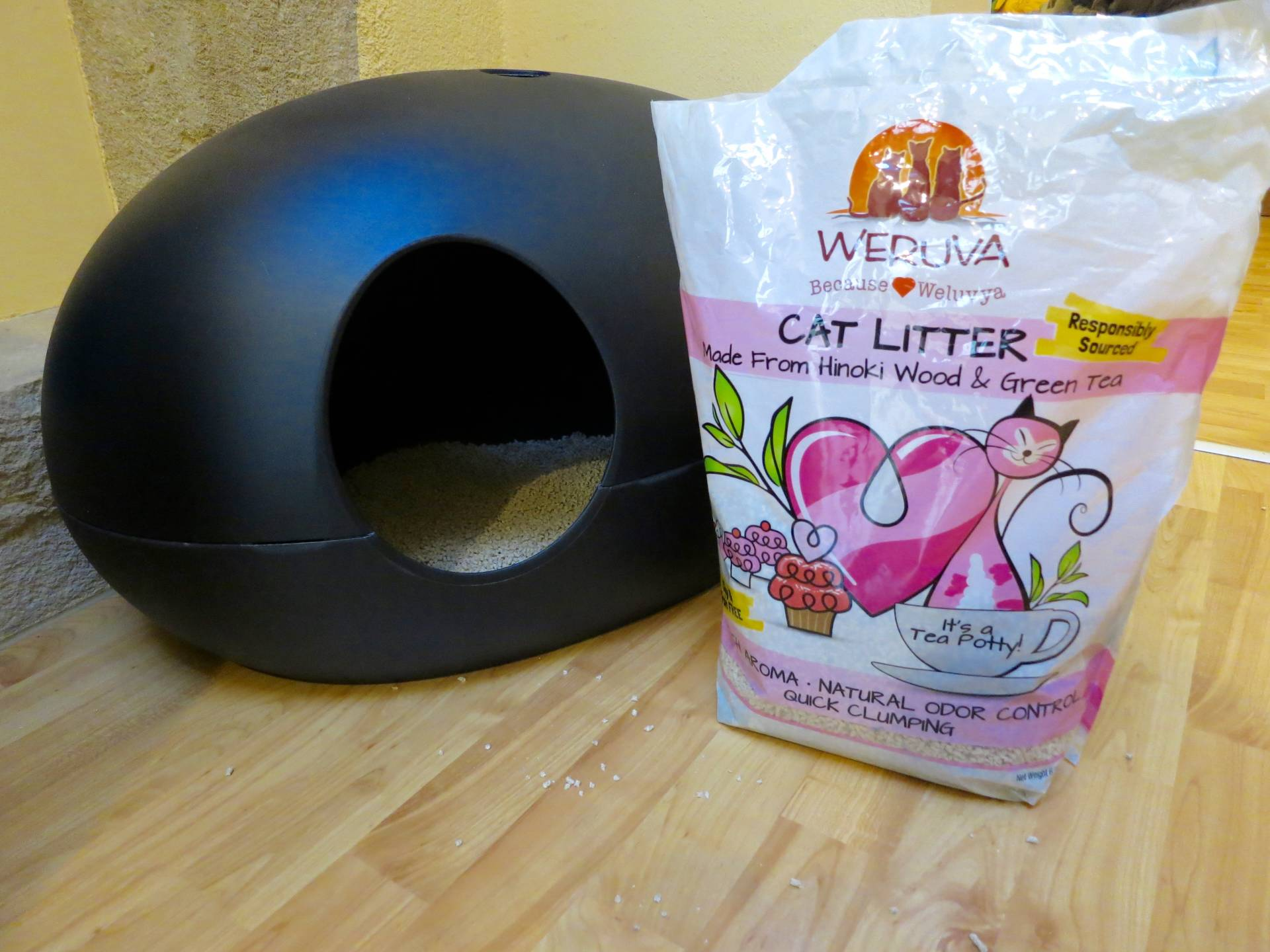 Weruva cat litter review