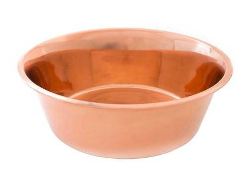CuBowl copper water bowl for pets