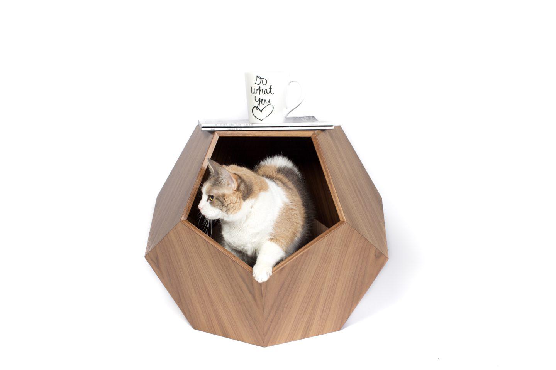 Geometric Modern Pet Bed Meow Lifestyle